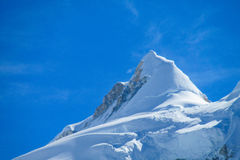 Snowcapped mountain Royalty Free Stock Image