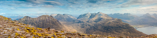 Snowcapped Mountain, Scotland Royalty Free Stock Photo