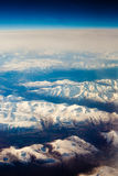 Snowcapped mountains Stock Photos