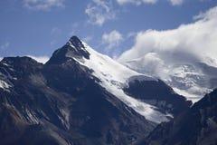 Snowcapped mountains. The snowcapped mountains in Tibet of China Stock Photography
