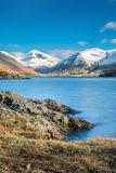 Snowcapped Mountains At Wastwater In The Lake District. Royalty Free Stock Images