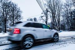 Snowcar Lizenzfreie Stockfotografie