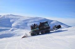Snowcat Στοκ Φωτογραφία