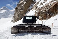 Snowcat Photo stock