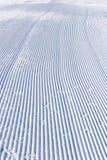 Snowcat da fuga da corrida de esqui Imagem de Stock Royalty Free