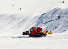 Snowcat Royalty Free Stock Images