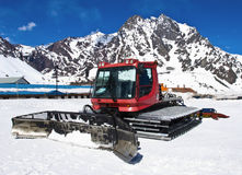 snowcat rouge Photographie stock