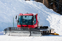 Snowcat vehicle Stock Image