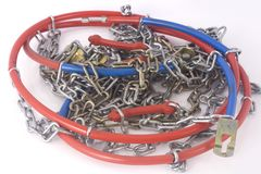 Snowchains Royalty Free Stock Photography
