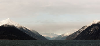 Snowcovered Mountains in  Alaska. Stock Photography