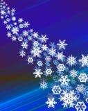 Snowcristals Stock Photo