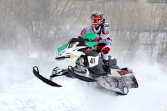 Snowcross 2013, Novyy Urengoy Photos stock