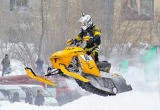 Snowcross 2013, Novyy Urengoy Images stock