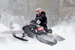 Snowcross 2013, Novyy Urengoy Photo stock