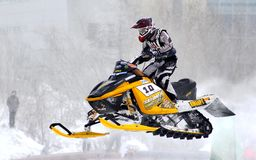 Snowcross 2013, Novyy Urengoy Fotos de Stock