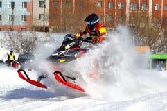 Snowcross 2013, Novyy Urengoy Fotos de archivo