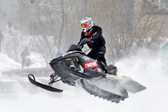 Snowcross 2013, Novyy Urengoy Stock Photo