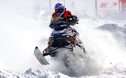 Snowcross 2013, Novyy Urengoy Royalty Free Stock Photos