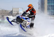 Snowcross 2013, Novyy Urengoy Stock Image