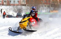 Snowcross 2013, Novyy Urengoy Royalty Free Stock Image