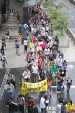 Snowden Gains Support From Protesters in Hong Kong Royalty Free Stock Photos