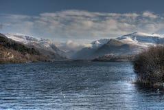 snowdon στην όψη στοκ φωτογραφία με δικαίωμα ελεύθερης χρήσης