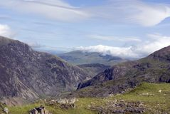 Snowdon Royalty Free Stock Photography