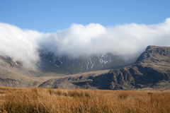 Snowdon cloud. Royalty Free Stock Image