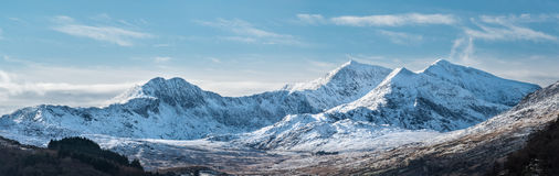 Snowdon horseshoe Royalty Free Stock Images