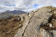 Snowdon from Moel Siabod Stock Photography