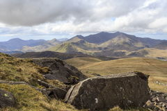 Snowdon from Moel Siabod Royalty Free Stock Photo