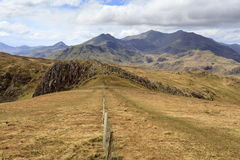Snowdon from Moel Siabod Royalty Free Stock Images