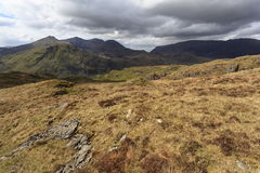 Snowdon from Moel Siabod Stock Image