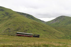 Snowdon Mountain Railway Royalty Free Stock Photography