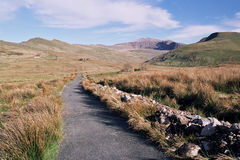Snowdon path. Stock Photography