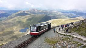Snowdon, Pays de Galles Photos stock