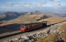 Snowdon railway Stock Images