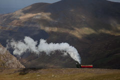 Snowdon Steam Train Royalty Free Stock Image