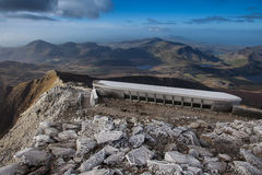Snowdon Summit cafe Stock Images
