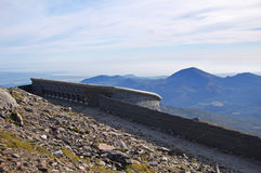 Snowdon Summit Visitor Center Royalty Free Stock Photography