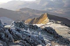 Snowdon szczyt Obraz Royalty Free