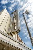 Snowdon teater Fotografering för Bildbyråer