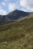 Snowdon Terenu Krajobraz Obraz Stock