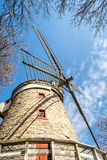 Fleming Wind Mill. In 1815, William Fleming, a young Scottish immigrant, built the first mill, which would later become the issue of a long trial with the royalty free stock photo