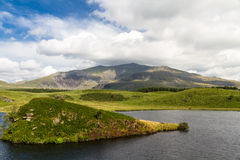 Snowdon from the west Royalty Free Stock Photography