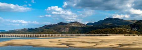 Snowdonia国家公园在威尔士英国 免版税库存照片