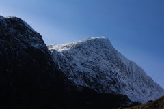 Snowdonia山脉 免版税库存图片