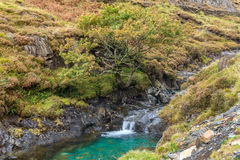 Snowdonia横向 库存照片