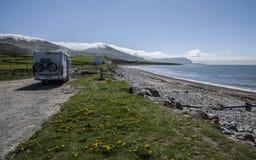 Snowdonia,北部威尔士,英国-让` s去野营 图库摄影