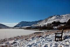 snowdonia снежное Стоковое Изображение